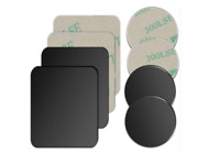 4 Pack Universal Mount Metal Plate with 3M Adhensive for magnetic phone holder