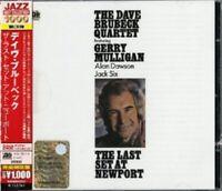 DAVE QUARTET BRUBECK - THE LAST SET AT NEWPORT  CD NEUF