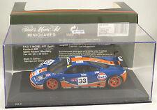 MCLAREN F1 GTR #33 Letho Weaver Bellm GULF RACING LE MANS 1996 MINICHAMPS 1:43