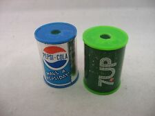 Collectible Vintage PEPSI & 7 UP Pencil Sharpeners