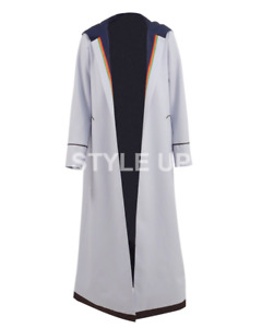 13th Doctor Who Jodie Thirteenth Doctor Stylish Wear Cosplay Cotton Trench Coat