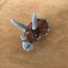 Replacement HEAD only 5885 Lego Complete Triceratops Trapper dinosaur minifigure