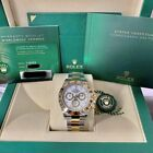 Rolex Cosmograph Daytona White Face Two-Tone Steel and Yellow Gold NEW 116503