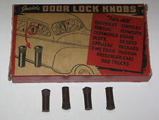 DOOR LOCK KNOBS (4)GMC Truck PACKARD 53 52 51 50 49 48 47 46 42 41 40 39 38 37