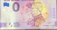 BILLET 0  EURO  BELGIE  - BELGIQUE 20 ANS DE MARIAGE ANNIVERSARY 2020 N° DIVERS