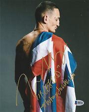 MAX HOLLOWAY SIGNED AUTO'D 8X10 PHOTO BAS COA UFC 212 #WHERESJOSEWALDO INS CHAMP
