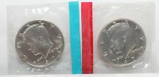 1971 P D Kennedy Half Dollars BU in US Mint Cello - 2 Coin Set