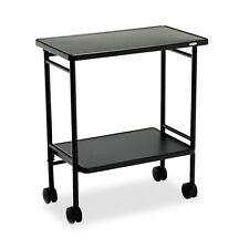 Safco Fold-Away Mobile Beverage Cart - 8965Bl