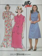 """NEW+VINTAGE 1978 COWL DRESS (KNITS)SEWING PATTERN 8400 SIZES 16/38"""""""