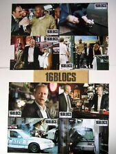 16 BLOCKS - Willis - Def - Donner - Set of 8 FRENCH LC