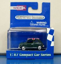WIDEA 1/87 Compact Car Series Morris Mini Cooper Green