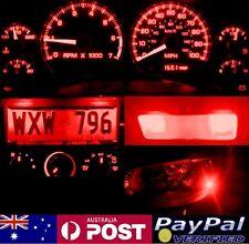 Red Full LED Conversion Kit (dash HVAC Parker ect) Holden Commodore VN VP VR VS