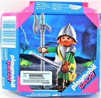 Playmobil Special 4742 Spanish Knight With Sword Axe And Helmet Open Box