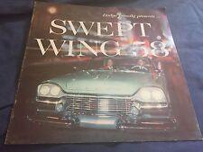 1958 Dodge Coronet Royal Lancer Full Line Brochure Color Prospekt