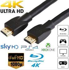 EXTRA LONG 15M UltraHD HDMI Cable High Speed 4K 19pin Sky Blu-ray Lcd 2160p 3D