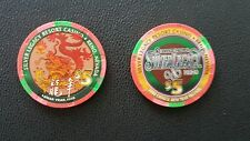 silver legacy reno chinese new year of the dragon $5 casino chip unc