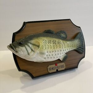 Big Mouth Billy Bass Singing Fish Take Me to the River Don't Worry 1999 Tested