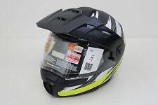 Original Schuberth E1 Yellow Hunter Motorradhelm Helmet Helm Gr. 56/57 M