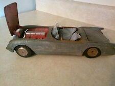 Vintage 1950s Hubley Kiddie Toy #509 Diecast Corvette Car