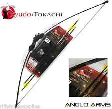 "BRAND NEW 'TOKACHI' 15LB ARCHERY BOW AND ARROW SET 44"" RECURVE BOW + ARROWS"