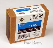 EPSON Inchiostro Ciano t5802 BLU PER STYLUS PRO 3800 3880. c13t580200