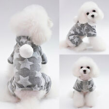 Dog Pajamas For Small Dogs Pet Puppy Hoodie Costume Jumpsuit Clothes Chihuahua