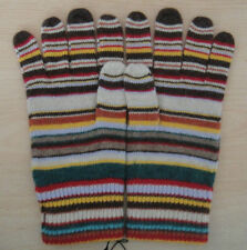 Paul Smith Gloves With Multi Stripes Mens