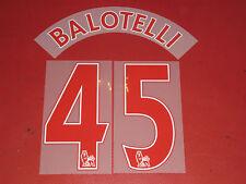 Flocage Nameset VIRGIL # 4 Liverpool Home Champions League