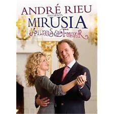 ANDRE RIEU PRESENTS MIRUSIA ALWAYS & FOREVER DVD REGION 0 PAL NEW
