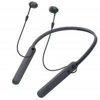 Sony C400 In-Ear Earbuds Headphones Bluetooth Neckband Headset Mic, Black