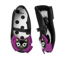 Gymboree Toddler baby shoes Kitty Bow Patent Ballet Flats US size 4