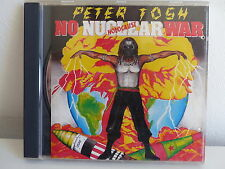 CD ALBUM PETER TOSH No nuclear war Holocaust CDP 7 46700 2
