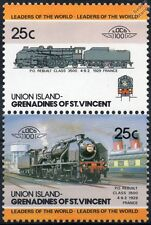 1929 PO / SNCF Classe 3500 Reconstruit 4-6-2 (France) train timbres / loco 100