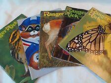 Vtg 5 Ranger Rick's Nature Magazine 1975 & 1976