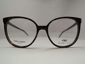 Saint Laurent Paris SL-39 Eyeglasses Women's 100% Authentic Made in Italy