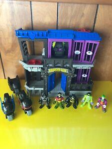 Fisher Price Imaginext Batman DC Super Friends Gotham City Jail Playset Arkham +