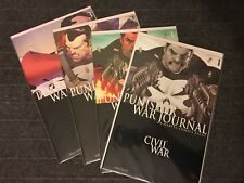 THE PUNISHER WAR JOURNAL 2007 SERIES LOT OF 4 - 1 2 3 Variant