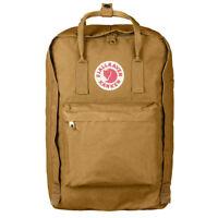 """Fjallraven Kanken 17"""" Laptop Acorn Classic Backpack 166 NEW!"""