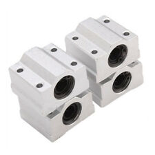 SCS8UU Linear Motion Ball Bearing CNC Slide Bushing 34.5mm Length 4pcs H2K4 C1J7