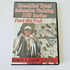 Speckled Trout Training DVD Find the Fish Catch a Limit Fishing Instruction