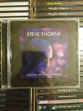 STEVE THORNE / Part Two Emotional Creatures CD 2007 New Sealed