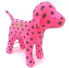 "Victorias Secret Pink Polka Dot Dog Large Size Limited Edition 10""x13"" Brand New"