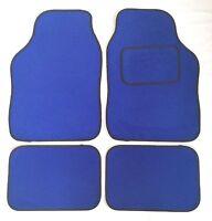 Blue Car Mats Black Trim For Vw Jetta Passat Polo Scirocco Tiguan Up