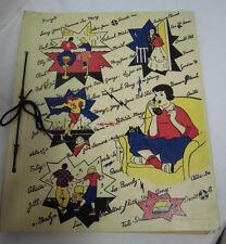 scrapbook EE.UU. de 1959 Libro Álbum 37x31 cm book vintage