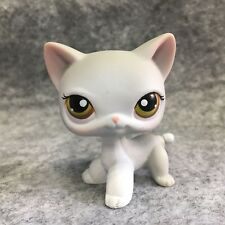 Littlest Pet Shop LPS Figure Toy #138 Gray Short Hair Cat E2