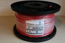 Ventcroft VFP-215ERH No-Burn 1.5mm 2 Core & Earth Fire Performance Cable In Red