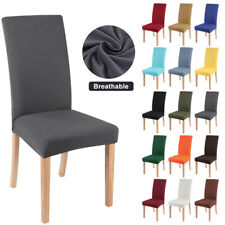 Stretch Chair Covers Slipcovers Spendex Seat Cover For Dining Wedding Home Decor
