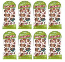 8 Packs Glitter Hedgehog Stickers Peaceable Kingdom