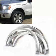 For 09-14 Ford F150 Painted Sliver Code UX Fender Flare Wheel Protector OE Style