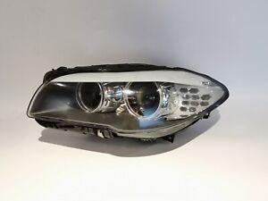 2009-2015 BMW 5 SERIES F10 F11 F18 BI XENON HEADLIGHT LEFT ASSEMBLY OEM 7203245